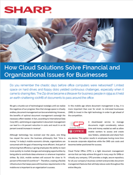 Cloud Solutions Article Cover
